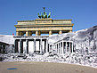 Foto Brandenburger Tor - Berlin